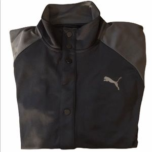 Puma Dry Cell Large Button Up Light  Jacket NWT